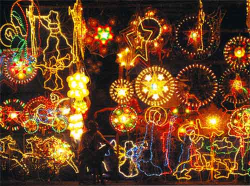 Christmas lanterns. Christmas Tree | Here, There and Everywhere!
